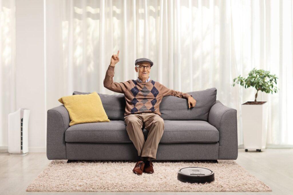 La ayuda de un robot para la limpieza del hogar nos permite tener mas tiempo